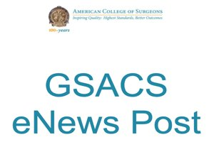 GSACS eNews – October 2020
